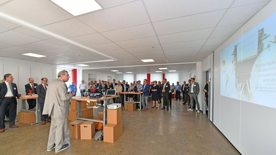 InnovationLab Eröffnung im BED Businesspark Ehingen Donau
